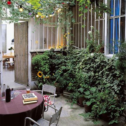 Jardiner a f cil algunas ideas para jardines peque os for Ideas para jardines muy pequenos