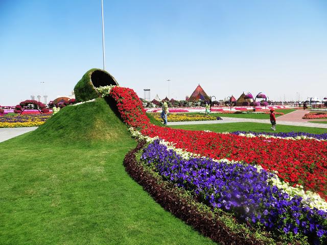 """""""El Diseño del Milagroso Jardín de Dubái-Miracle Garden de Dubai"""""""