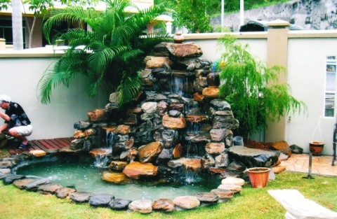 Fish Pond Designs - garden pond design and construction